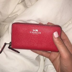 Red Coach Coin/Card holder